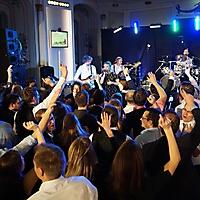 Weihnachtsfeier Liveband «einheitsbrei» 2016 Alte Universität Graz_3
